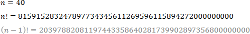 El factor utilizado para calcular el número de posibles rutas para la optimización (40 puntos)