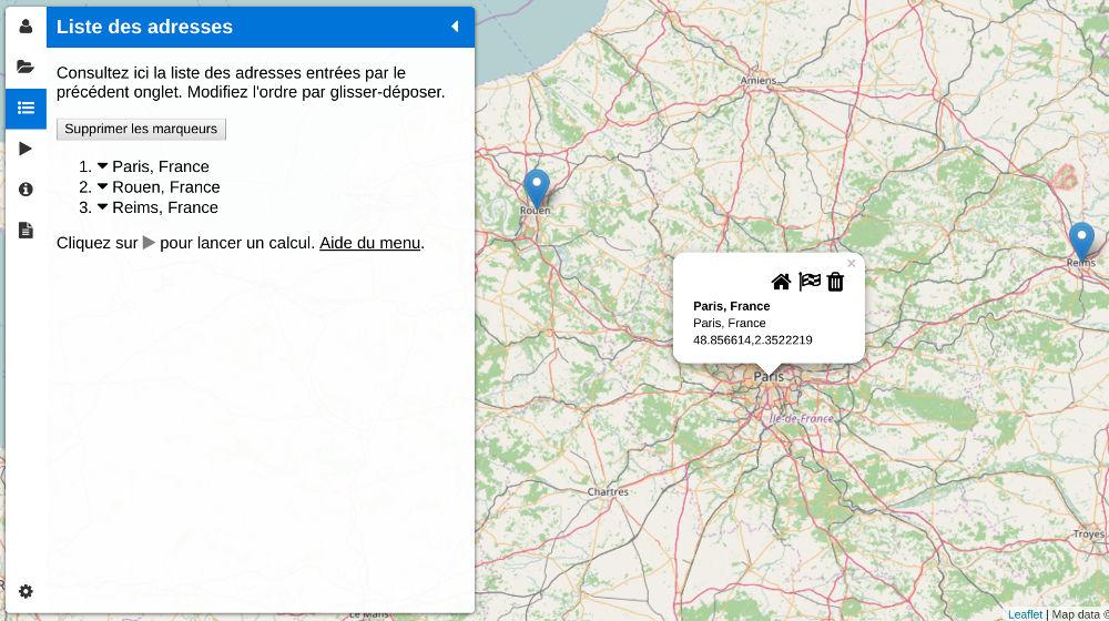 Geocode addresses and export GPS coordinates